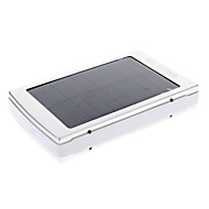 30000mAh Multi-Output Solar External Battery Silver for Mobile Device