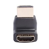 ホームシアター用のHDMI V1.4オス/メス270度コネクタ/拡張ジョイント