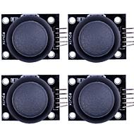 ps2 tommelfinger joystick-modul til (for Arduino) - sort (4 stk)