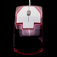 USB Wired Comfortable Optical Mouse (Assorted Colors)