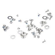 Zilver Reparatie Onderdelen Metaal Schroeven Set voor iPhone 4/4S