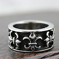 z&x® punky de la aleación de plata de flores cruzado anillos de los estados de los hombres (1 unidad)