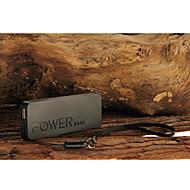 mini ultra-tynne 6500mah bærbar polymeride strøm bank for iPhone 6/6 pluss / 5 / 5s / samsung s4 / s5 / Note2