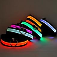 niedliche dunkle Seite LED-Leuchten Halsbänder für Haustiere (farblich sortiert, sortierte Größe)