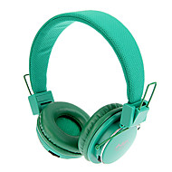 MRH-8809 3.5mm Stereo Collapsible On-Ear Headphone with TF/FM Function(Green)