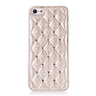3D Rhombus Cotton Designed Diamond Look PC Hard Case for iPhone 5/5S (Assorted Colors)