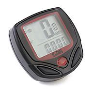 Bike Computer,Digital LCD Cycling Computer Bicycle Speedometer 13 Functions Odometer Speed
