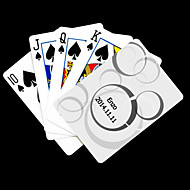 Personalized Gift White Dot Pattern Playing Card for Poker