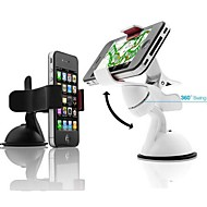 360° Dash Car Mobile Stand Holder for iPhone  (Assorted Colors)
