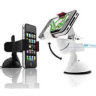 360 ° Dash Car Mobile Stand Holder for iPhone (assorterte farger)