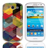 Geometric Design Hard Case with 3-Pack Screen Protectors for Samsung Galaxy S3 I9300