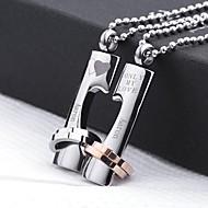 Cadou personalizat - de Unisex - Coliere - Auriu / Argintiu - Oțel Inoxidabil