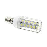 E14 7W 36x5730SMD 1680LM 6000-6500K холодный белый свет мозоли СИД лампы (AC 220-240V)