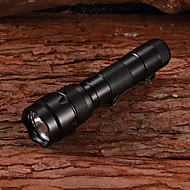 LED 395nm 5-Mode Ultraviolet UV Flashlight with Clip(1x18650)