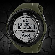 SKMEI® Men's Watch Sports LCD Digital Water Resistant Multifunction Cool Watch Unique Watch Fashion Watch