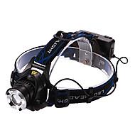 Iluminação Lanternas de Cabeça LED 900/1600/1200/450 Lumens 3 Modo Cree XM-L T6 / Cree XM-L2 T6 18650.0 Recarregável MultifunçõesLiga de