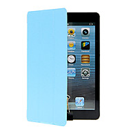 For with Stand Origami Case Full Body Case Solid Color Hard PU Leather for Apple iPad Mini 4 iPad Mini 3/2/1