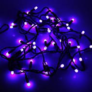 Waterproof 5M 3W 50-LED Blue Light LED Strip Light (110V)