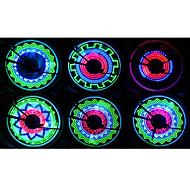 Bike Lights / Wheel Lights LED - Cycling Waterproof / Impact Resistant AAA Lower than 400 lumens Lumens Battery Cycling/Bike-FJQXZ®