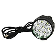 WhiteLED Bike Light / Phare de Marsing M70 7 x CREE XM-L T6 3-modes - Noir (6 x 18650 inclus)