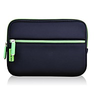 Green Solid Color Neoprene Anti-Shock Case for 7''Tablet