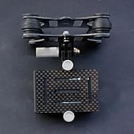 DJI Phantom Karbon Fiber Anti-getaran 4-Axis FPV gimbal untuk GoPro 3