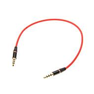 0,25 M 0.8FT Auxiliary Aux Audio Kabel 3.5mm Jack han til han kabel