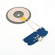 Trådløs Oplader Til mobiltelefon 1 USB-port EU  Stik UK  Stik US Stik AU  Stik Sort