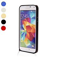 Voor Samsung Galaxy hoesje Schokbestendig hoesje Bumper hoesje Effen kleur Aluminium Samsung S5