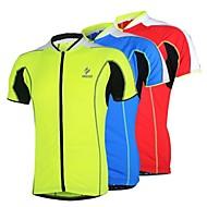 tops / Jersey (verde claro / Vermelho / Azul) - de Ciclismo / Trilha - Unissexo / Homens / Mulheres -Respirável / Secagem Rápida /