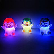 Penguin Rotocast Color-changing Night Light(Random Color)