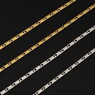 Naisten Kaulaketjut Platinum Plated Gold Plated Muoti Hopea Kultainen Korut Varten Häät Party Päivittäin Kausaliteetti 1kpl