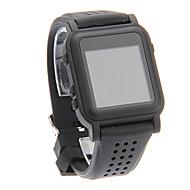 Fashion Comfortable Convenient MP4 Smart Watch Player (Black)