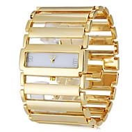 Damers Armbandsklocka Vardaglig klocka Japanska Quartz Band Eleganta Lyxig Silver Guld Guld Silver