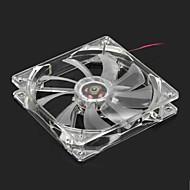 Quiet PC Case Fan w / LED 4Color lumière