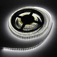 5M 96W 1200x3528SMD Cool White Light LED Strip Lamp (DC 12V)