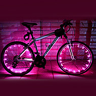 Luces para bicicleta / luces de la rueda LED Ciclismo A Prueba de Agua AA Lumens Batería Ciclismo-FJQXZ®