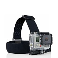 YuanBoTong-GP23  Elastic Adjustable Head Strap with Anti-Slide Glue for GoPro Hero 3+/3/2/1