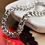 Bărbați Brățări cu Lanț & Legături Teak Design Unic La modă Bijuterii Șarpe Argintiu Bijuterii 1 buc