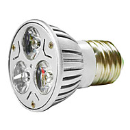 MR16 3W 1W * 3 LEDs 270-300LM Warm White / White Light Bulb LED Spot (AC 100 - 220V)