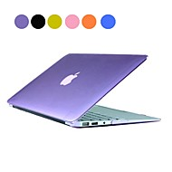 "Solid Color PC Hard Case with Crystal for MacBook Air 13""(Assorted Colors)"