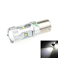 1156 30W 6-LED 2500LM 6500K White Light LED Bil Bakke Light (DC 9-24V)