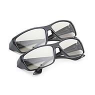 m&k általában polarizált fény mintás retarder sűrűsödik 3D-s szemüveg tv és mozi (2db)