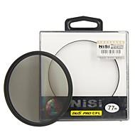 nisi 77mm pro cpl ultra mince filtre circulaire de l'objectif de polariseur