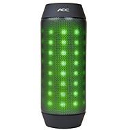 6w bluetooth högtalare med FM-radio / tf port för telefon (justerbar ljusblå / röd / grön / vit)
