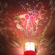 DIY kyss Romantisk Galaxy Starry Sky projektor Night Light för Fira jul Festival