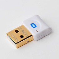 Mini CSR Bluetooth 4.0 Adapter Dongle with Supports Dual Mode Transmission