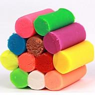 12 farge plastilin håndlagde leker (tilfeldig farge)