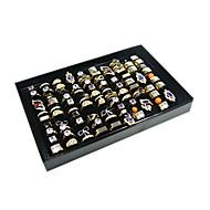 Pudełka na biżuterię Akrylowy / Flanela / Papierowy Geometric Shape Czarny / Biały
