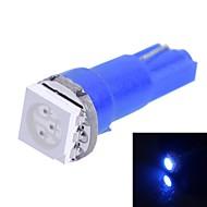 gc® 0,25 W T5 15lm 1x5050smd johti sininen valo auton osoittavat kojelautaan leveys lamppu (DC 12V)